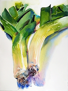 Suze Woolf vegetable painting