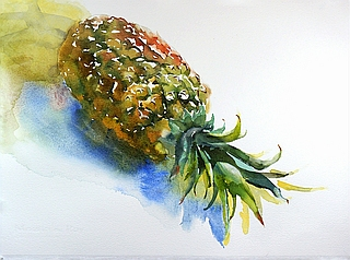 Suze Woolf fruit painting