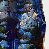 Portion of Suze Woolf painting