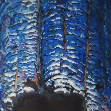 A portion of the Suze Woolf painting
